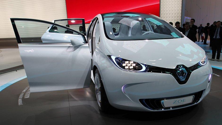 Renault Zoe, une version sport à l'étude