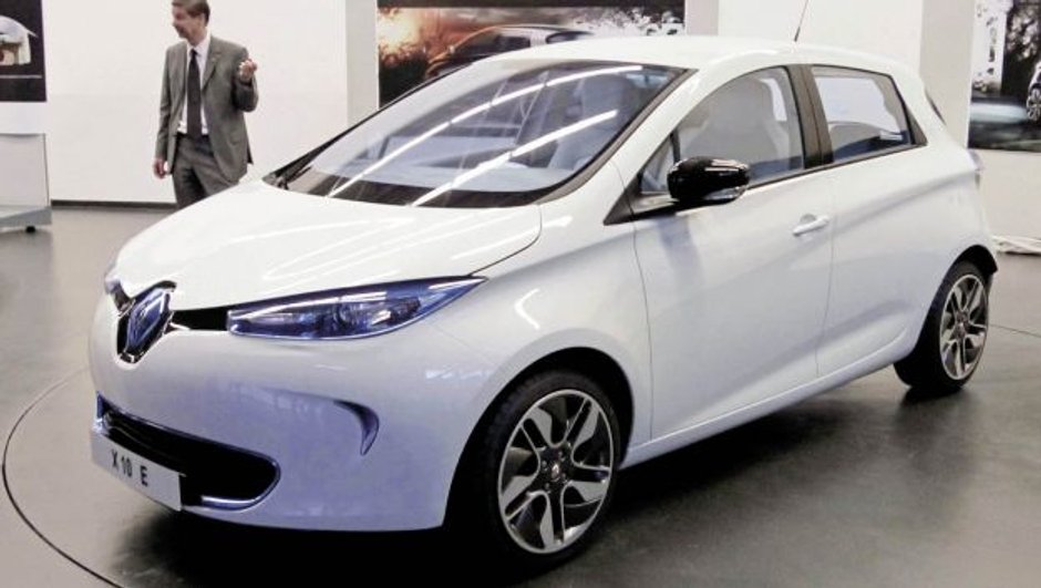 Scoop : la nouvelle Renault ZOE en photo !