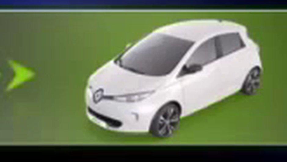 Scoop : la première image de la Renault ZOE ?