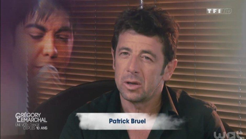 """Grégory Lemarchal - Vidéo : Pour Patrick Bruel, """"l'un des plus grands duos"""" de sa vie"""