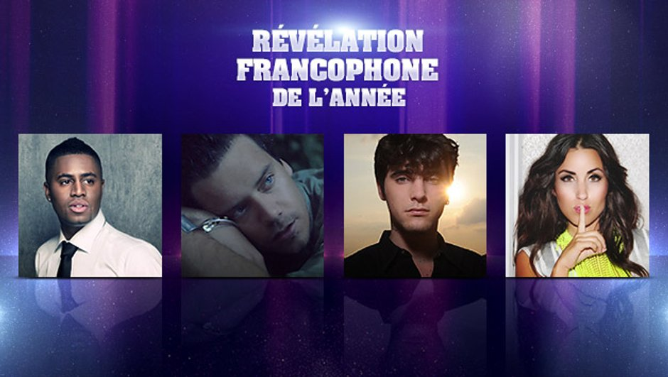NRJ Music Awards : qui sera la Révélation Francophone de l'année 2013 ?