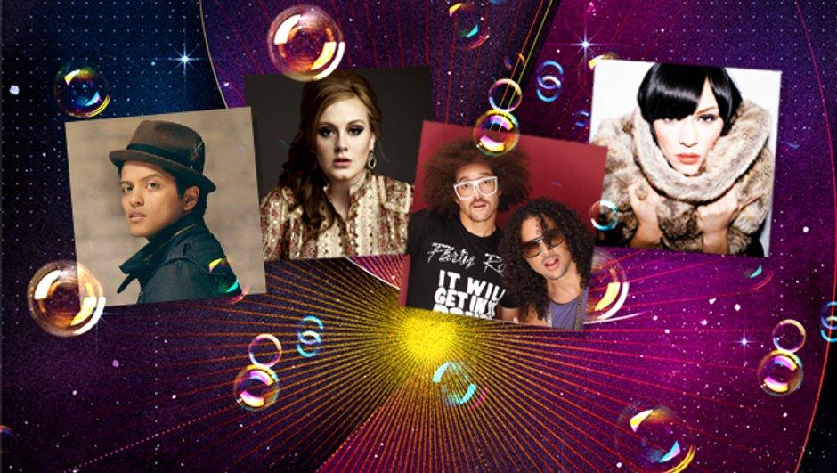 Révélation Internationale de l'année - Nominations - NRJ Music Awards 2012
