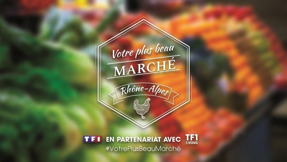 Votez pour le plus beau marché de la région Rhône-Alpes