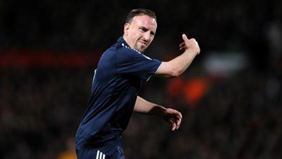 Ribéry tourne le dos à Domenech