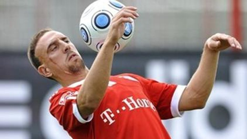 Franck Ribéry, dernier buteur avant la trêve