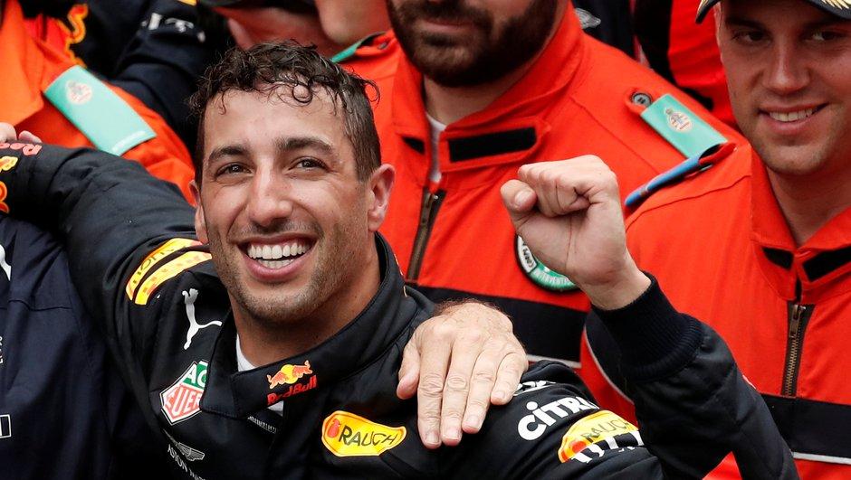 Ricciardo : « J'ai cru que c'était fini pour moi»