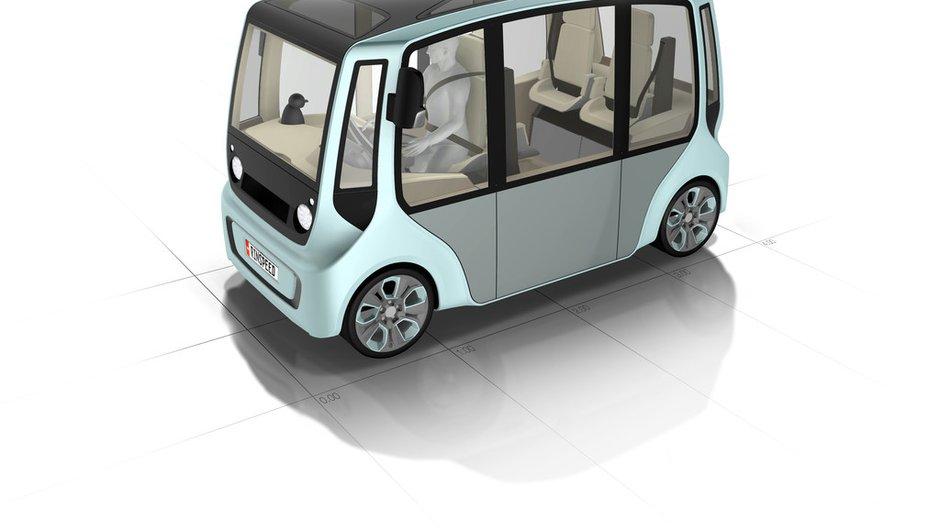 Rinspeed microMAX Concept : le micro-bus urbain de demain ?