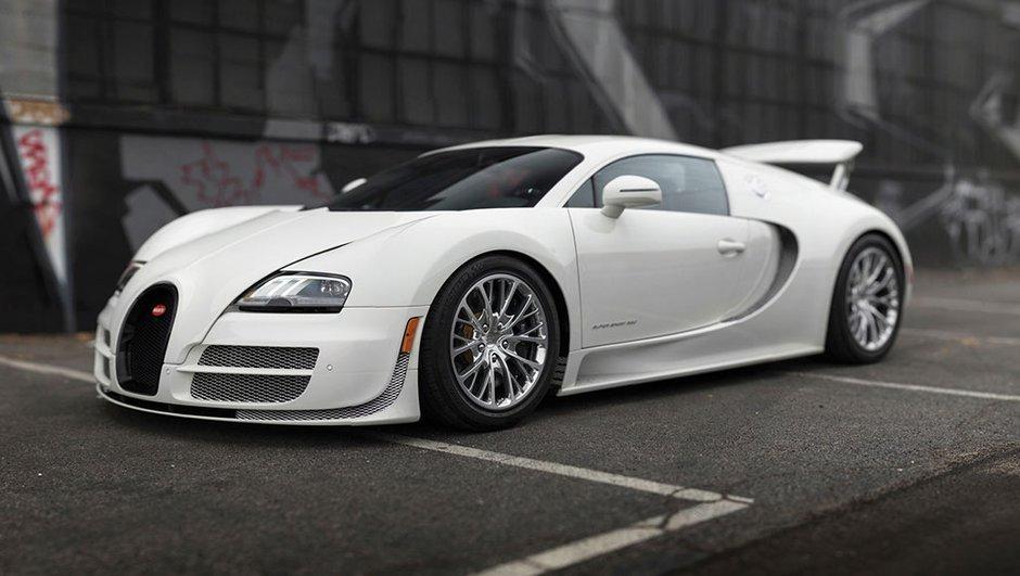 Enchères : La dernière Bugatti Veyron Super Sport est à vendre
