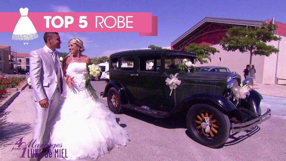 Top 5 des plus belles robes de mariées !