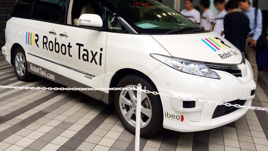 Des taxis robots au Japon dès 2020 ?