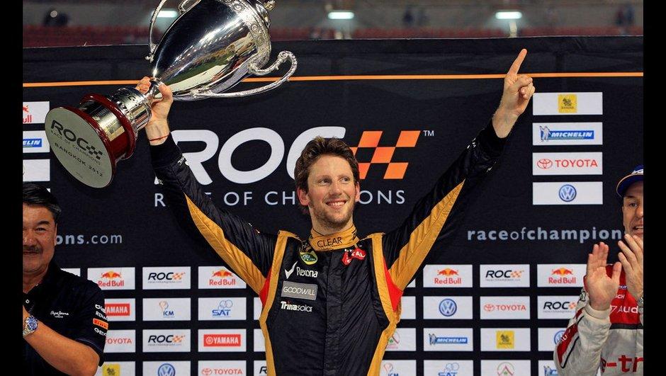 Race of Champions 2012 : Romain Grosjean titré