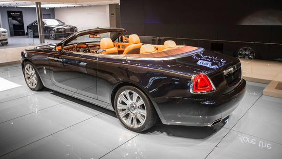 Salon de Francfort 2015: Rolls-Royce Dawn, nouveau paquebot anglais