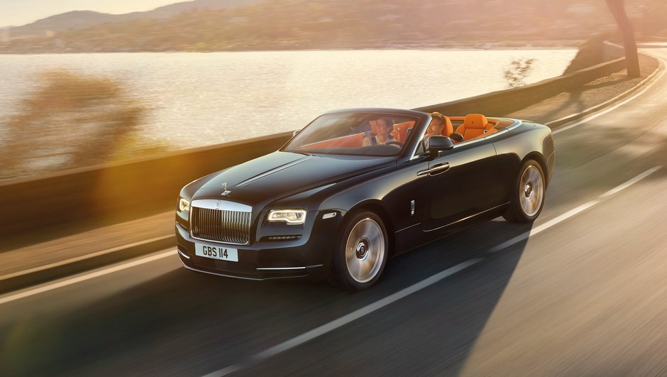 Nouvelle Rolls-Royce Dawn 2016 : un yacht roulant