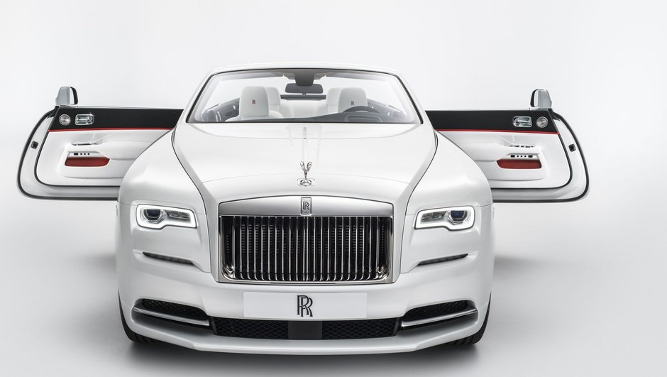 Rolls-Royce Dawn Inspired by Fashion : une nouvelle série spéciale