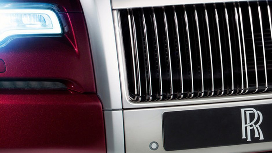 Rolls-Royce Ghost Series II 2014 : première photo teaser du restylage