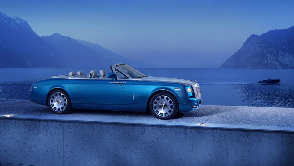 Rolls-Royce Phantom Drophead Coupé Waterspeed Collection : belle célébration nautique