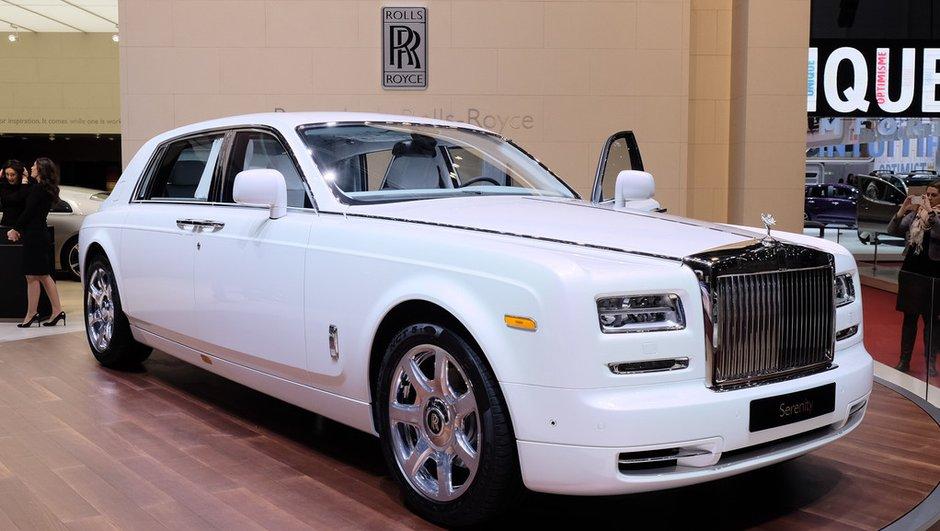 Salon de Genève 2015:Rolls-Royce Serenity, la grandeur du luxe