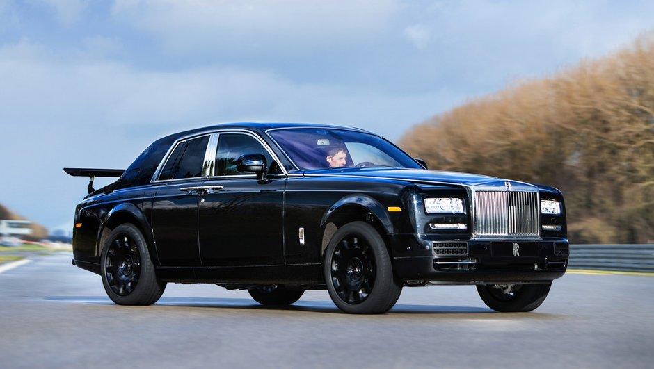 Rolls-Royce Project Cullinan : le prototype de SUV avec un aileron !