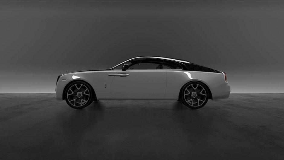 Les Rolls-Royce s'habillent désormais de carbone