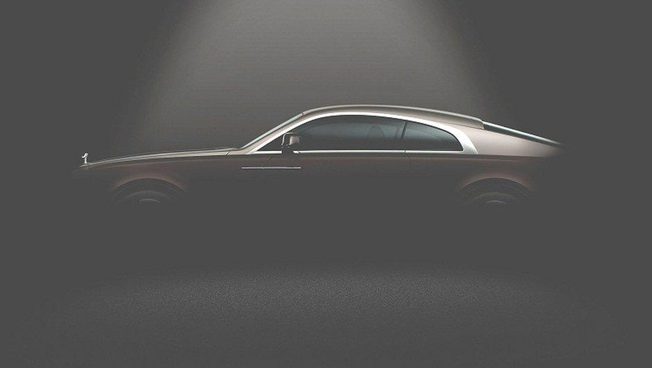 Rolls-Royce Wraith 2013 : première photo officielle