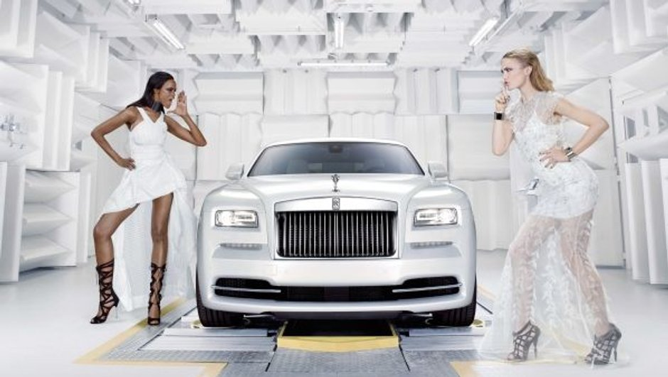 Rolls-Royce Wraith Inspirated by Fashion : le luxe à la mode