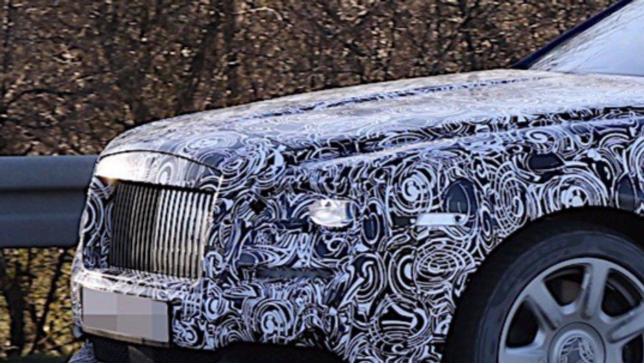 Rolls-Royce Wraith: une cure de jouvence prévue pour le Salon de Genève?