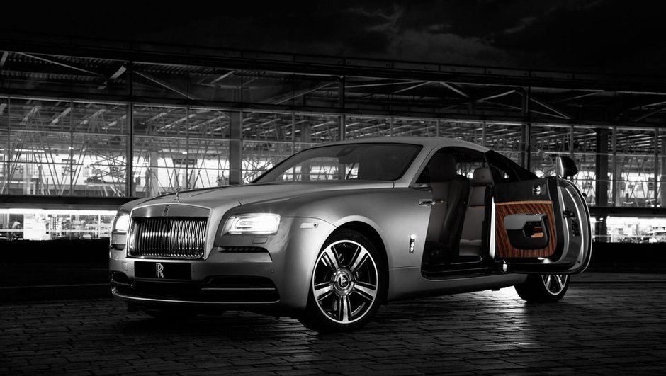 "Salon de New York 2015 : Rolls-Royce divulgue la Wraith ""Inspired by Film"""