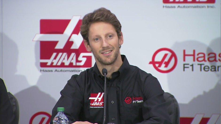 F1 : Romain Grosjean sera chez Haas en 2016