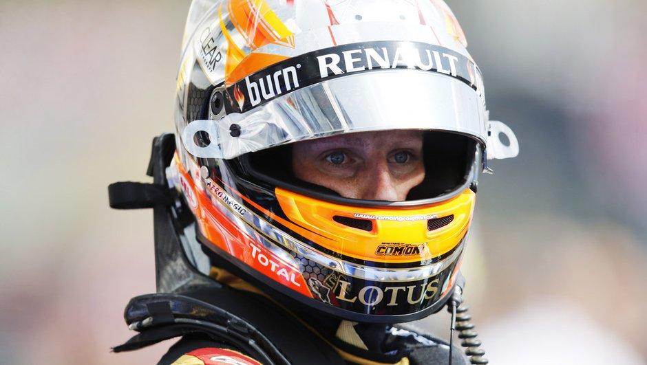 F1 - GP de Hongrie 2013 : Grosjean doublement pénalisé