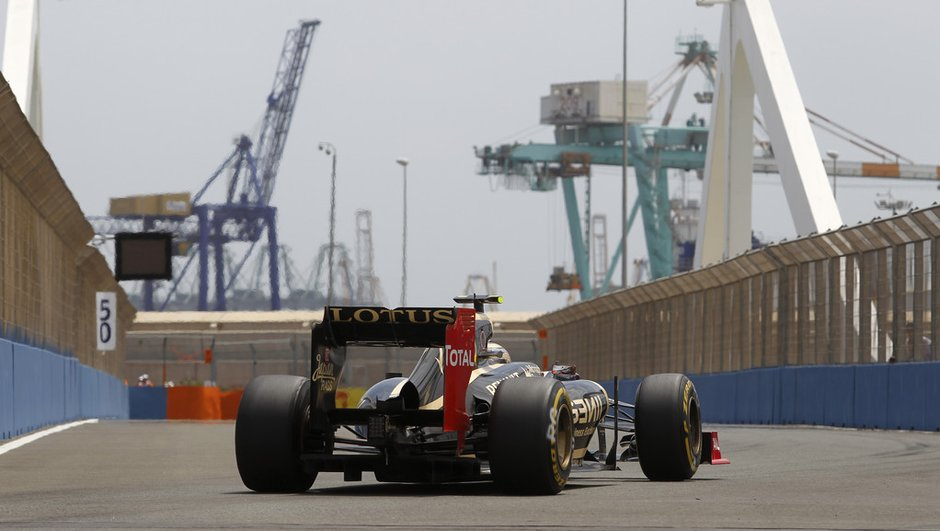 F1 - GP d'Europe : Abandons de Vettel et Grosjean !