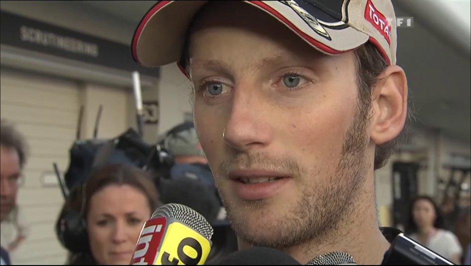 """F1 : Grosjean """"cinglé du premier tour"""" pour Webber"""