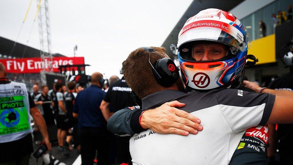 F1 - GP du Japon 2016 : qualifié 8e, Grosjean retrouve le sourire