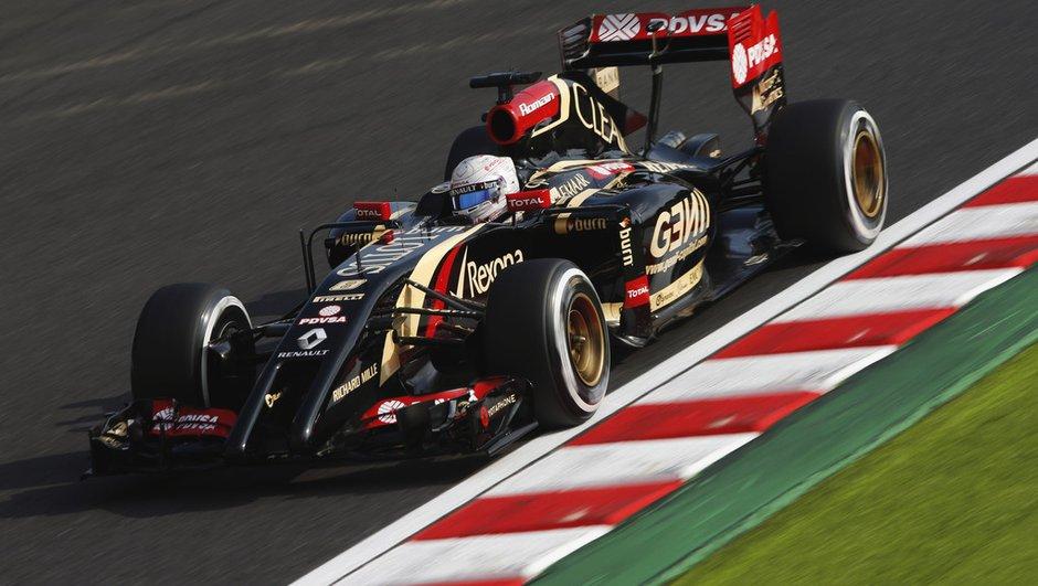F1 : Lotus avec des moteurs Mercedes-Benz à partir de 2015