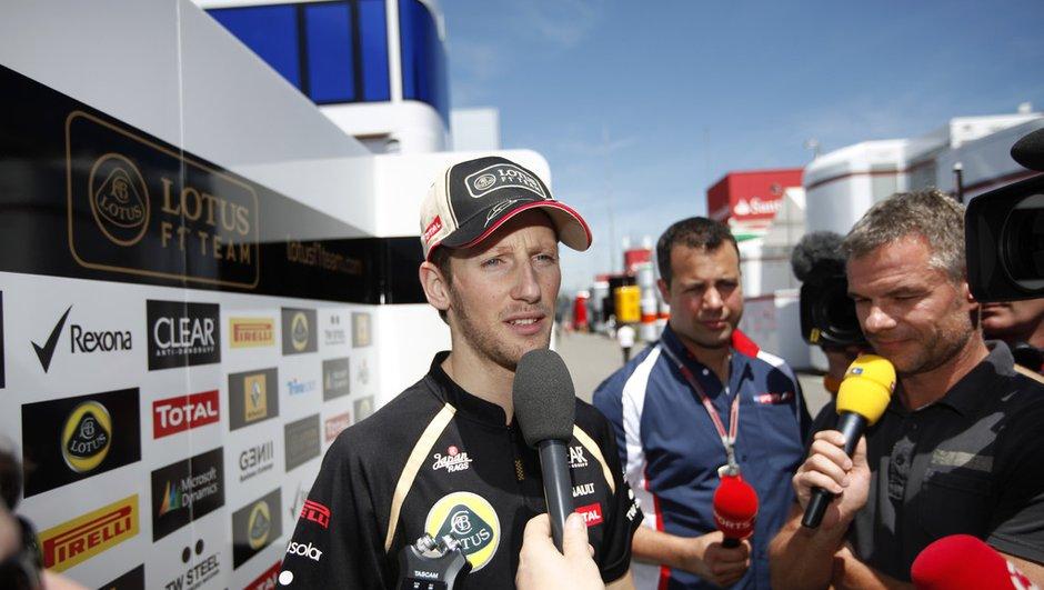 F1 GP Belgique : Grosjean suspendu une course !