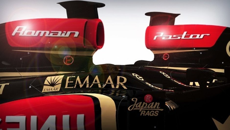 F1 : Grosjean et Maldonado confirmés chez Lotus en 2014