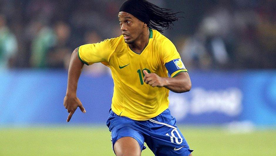 Ronaldinho jouera contre l'Argentine de Messi !
