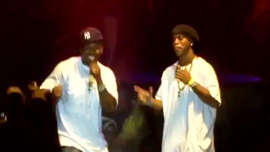 Insolite : Ronaldinho sur scène avec 50 Cent