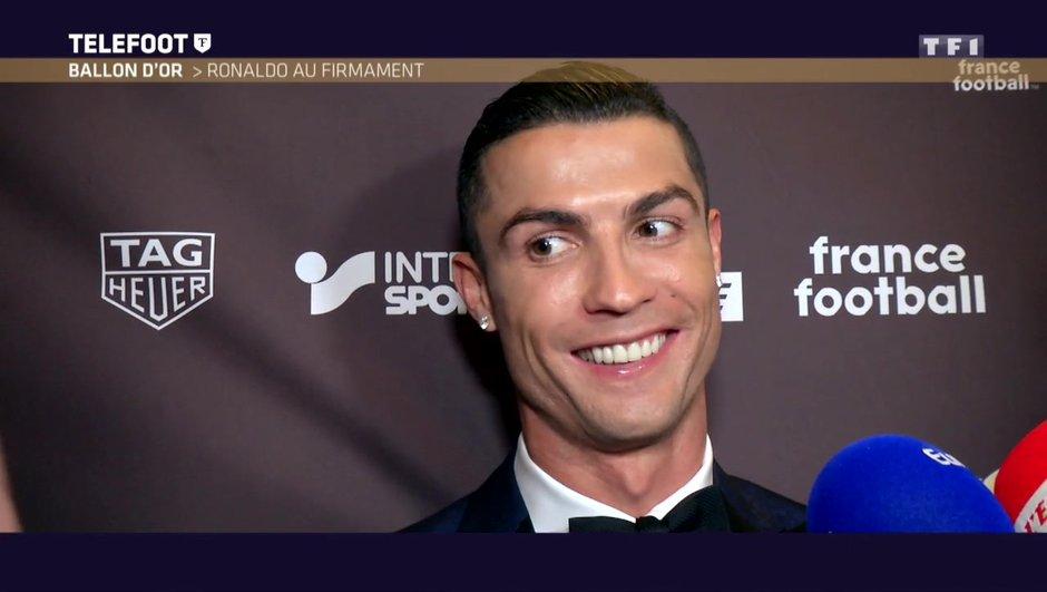 """[EXCLU Téléfoot 10/12] - Ballon d'Or 2017 / Cristiano Ronaldo : """"Mon prochain objectif ? Gagner la Coupe du monde, cela changera quelque chose"""""""