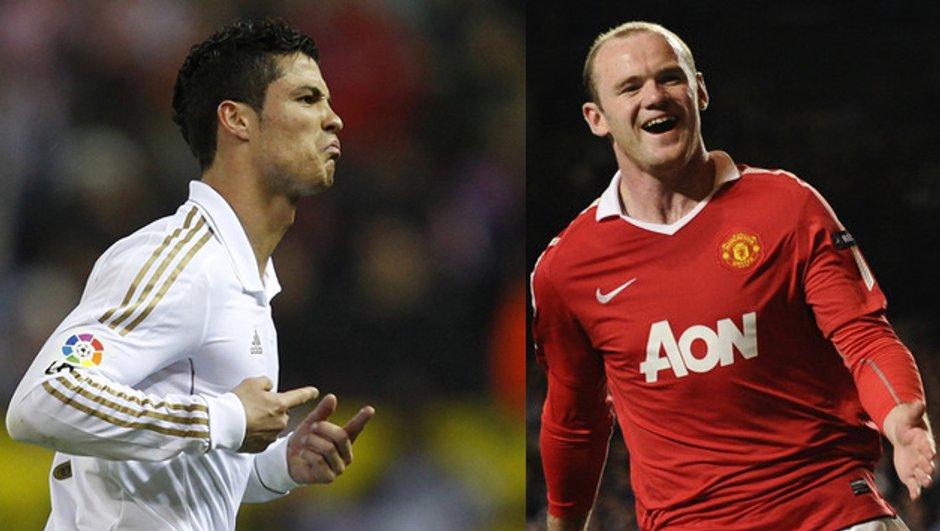 Manchester United-Real Madrid : Rooney vs. Ronaldo