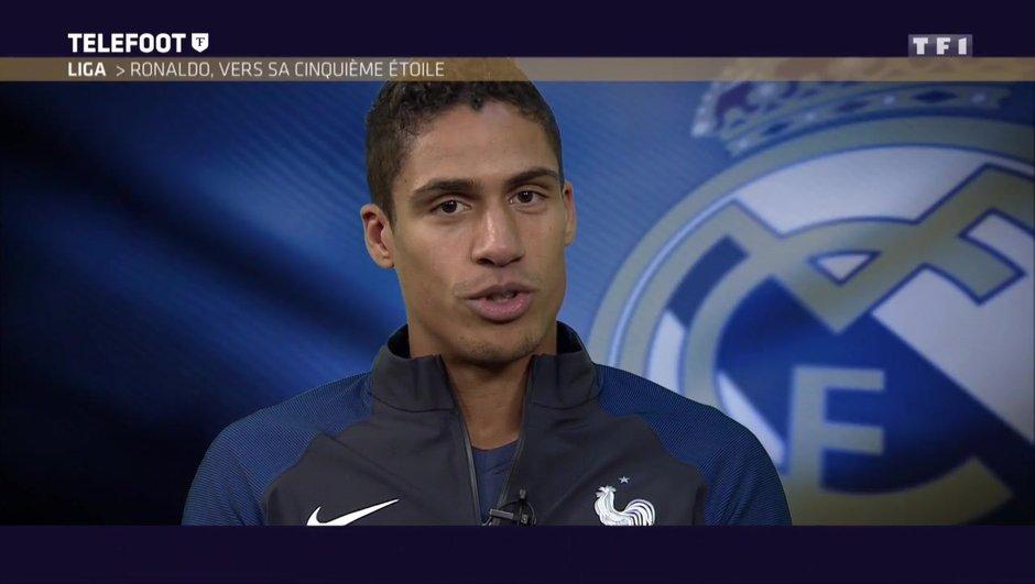 """[EXCLU Téléfoot 03/12] - Real Madrid / Varane : """"L'envie de Ronaldo est infaillible, c'est le meilleur joueur du monde"""""""