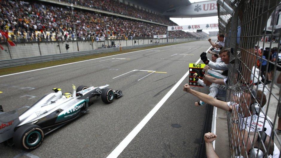 """F1 GP Chine - Rosberg : """"Je n'oublierais jamais cette course"""""""