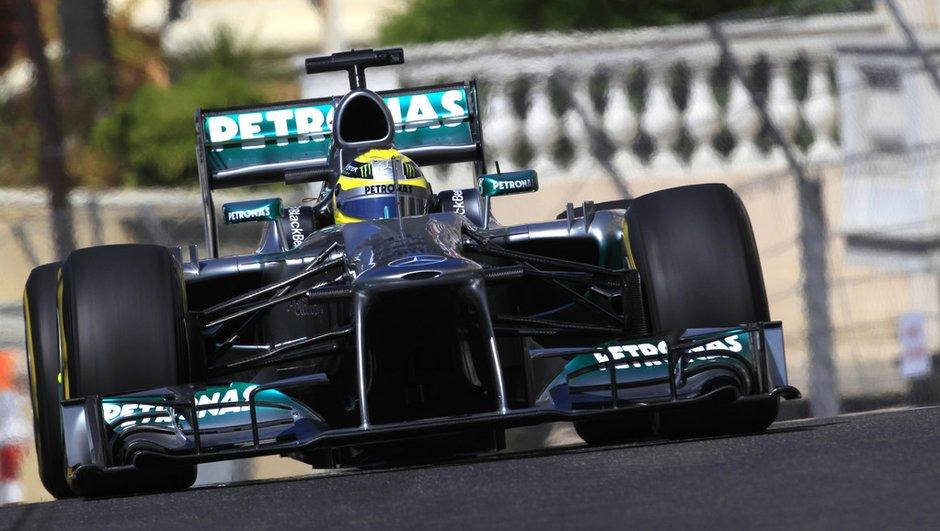 F1 - GP de Monaco : Rosberg toujours leader