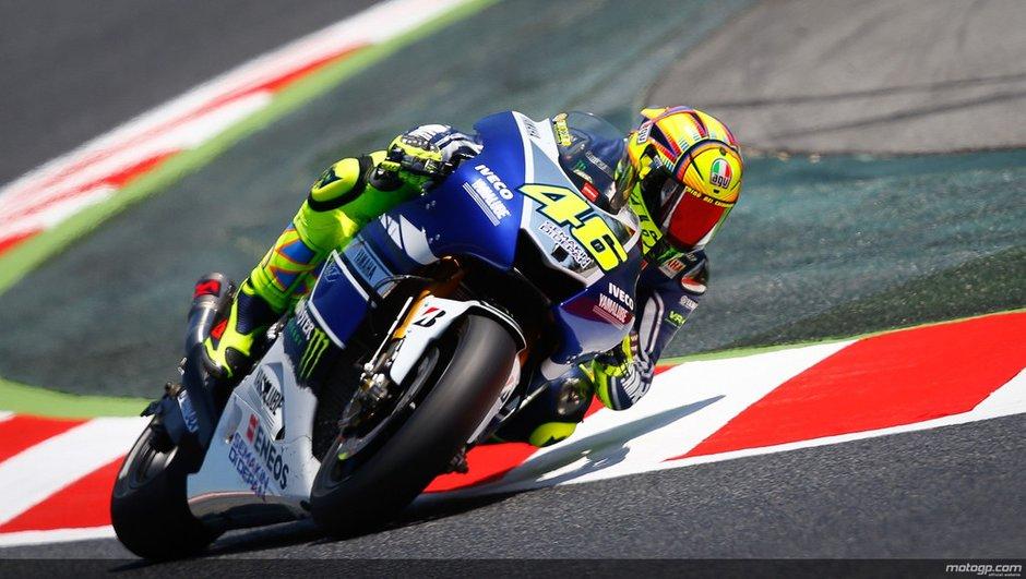 MotoGP - GP de Catalunya : Rossi l'a échappé belle