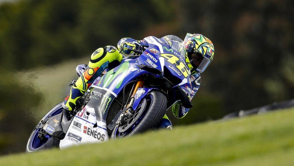 MotoGP - GP d'Australie 2016 : chez Yamaha, c'est la soupe à la grimace