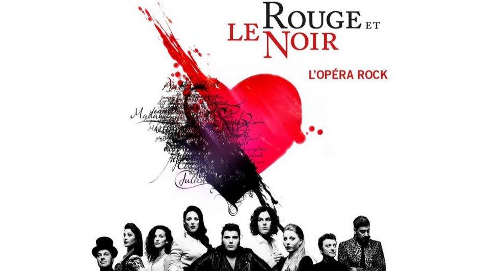 """""""Le Rouge et le Noir, l'Opéra Rock"""", l'album sort aujourd'hui"""
