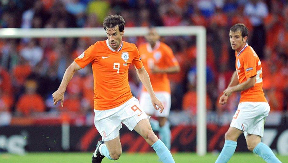 "Van Nistlerooy : "" l'Espagne est favorite """