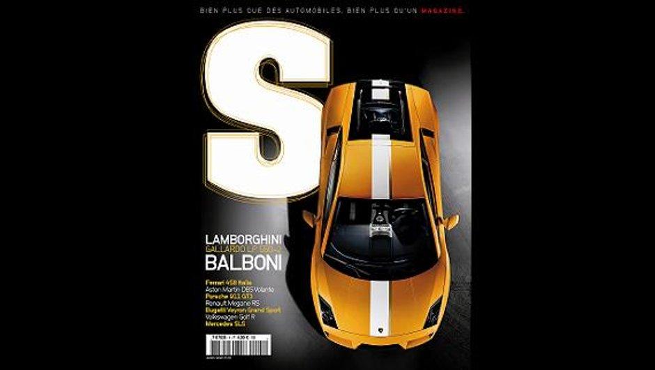 """""""S"""" : Bienvenue au nouveau magazine de l'automobile sportive"""