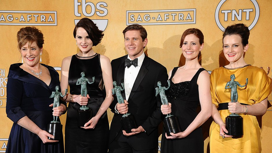 SAG Awards: Dowton Abbey devant les géants US