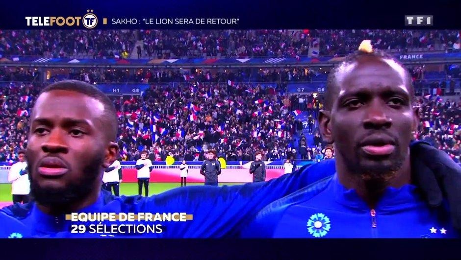 """[EXCLU Téléfoot 28/04] - Sakho : """"J'ai toujours l'équipe de France en ligne de mire"""""""