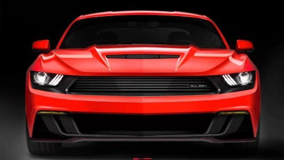 Saleen 302 2015 : la future Ford Mustang très méchante en image